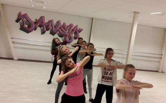 Cursus Streetdance / Hip Hop groep 4 en 5