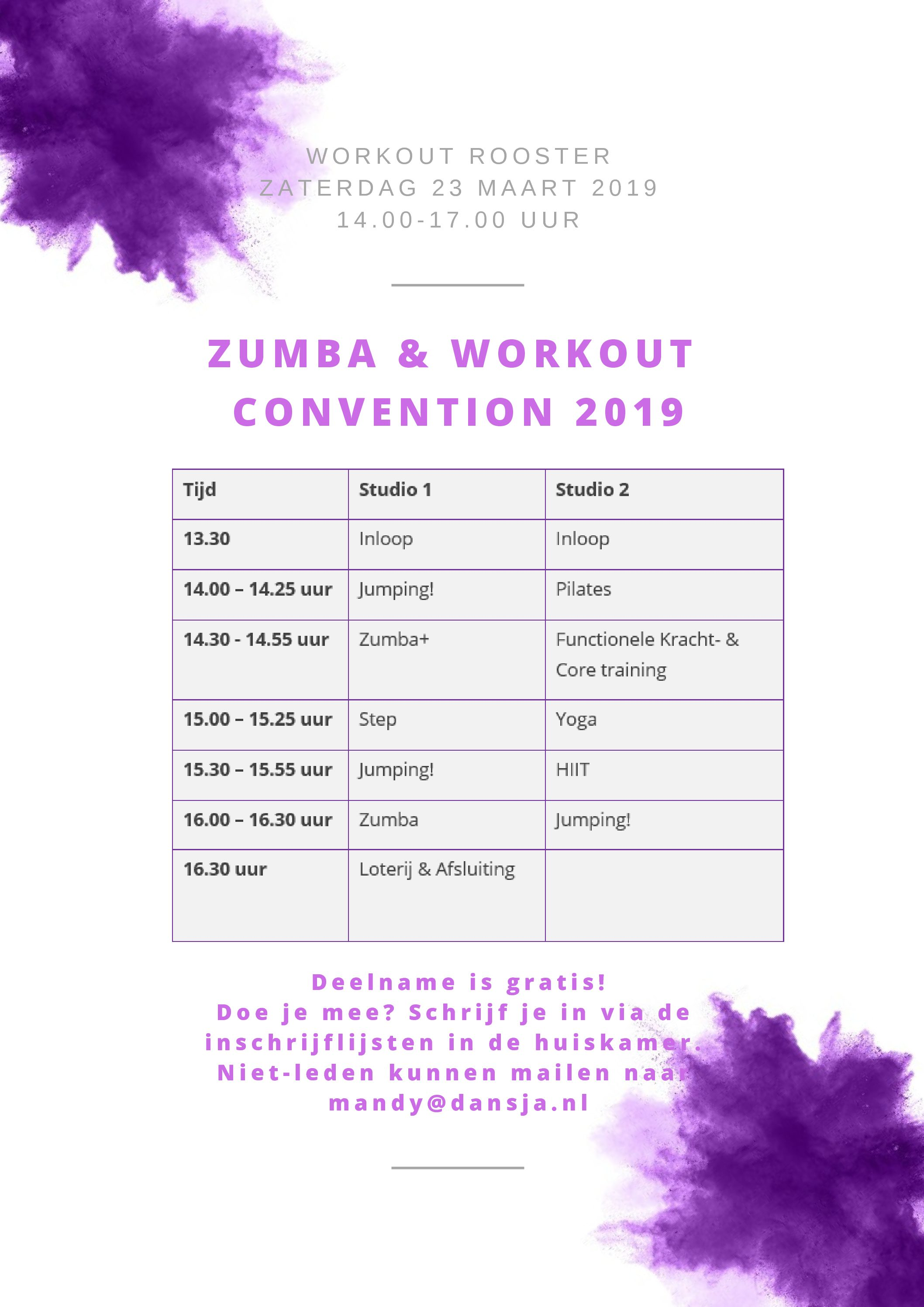 Zumba & Workout Convention 2019