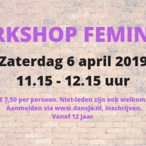 Workshop Feminine 12+