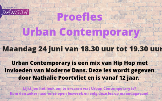 Proefles Urban Contemporary