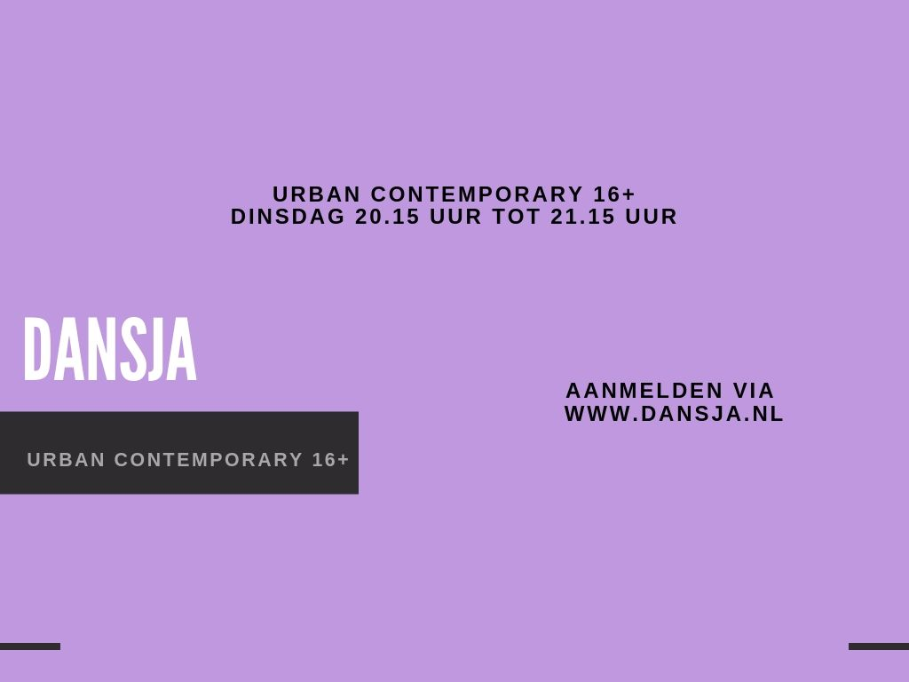 Urban Contemporary 16+
