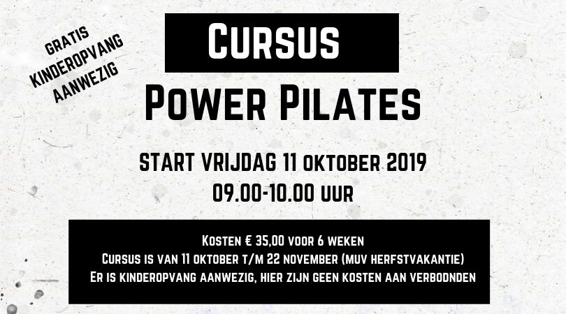 Cursus Power Pilates