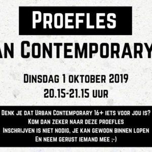 Proefles Urban Contemporary 16+