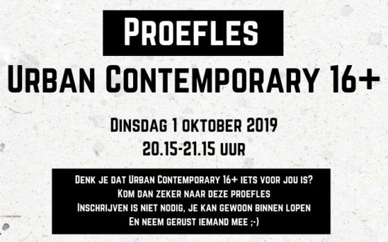 Proefles Urban Contemporary 16+