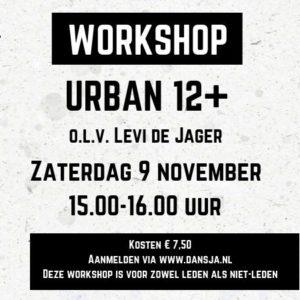 Workshop Urban 12+