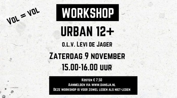 Workshop Urban 12+