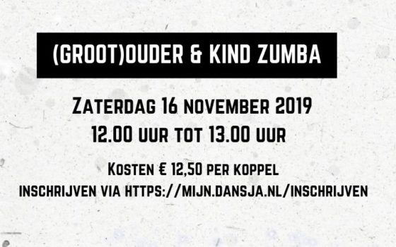 (groot)ouder & kind Zumba