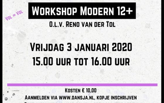 Workshop Modern 12+