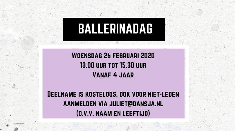 Ballerinadag