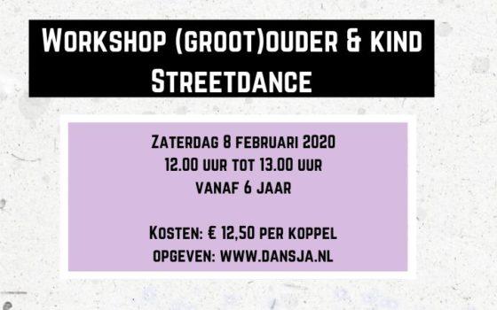 Workshop (groot)ouder en kind Streetdance