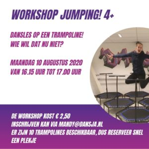 Workshop Jumping! 6+