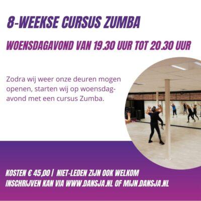 Cursus Zumba woensdagavond