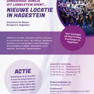 Nieuwe locatie in Hagestein